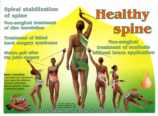 "Kirja ""Healthy spine"""
